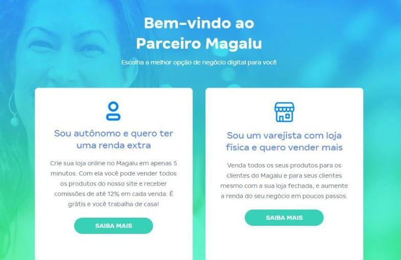 Magalu lança plataforma digital para pequenas empresas eautônomos
