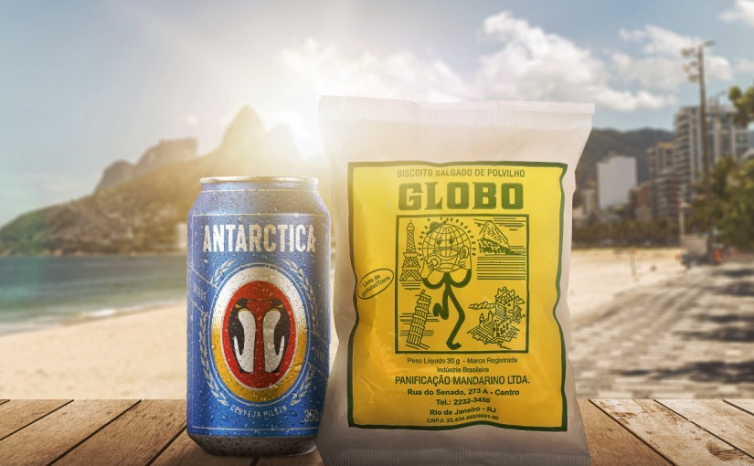 Beer brand Antarctica partners with traditional brand of beach snack and reverses profit of sales for street vendors