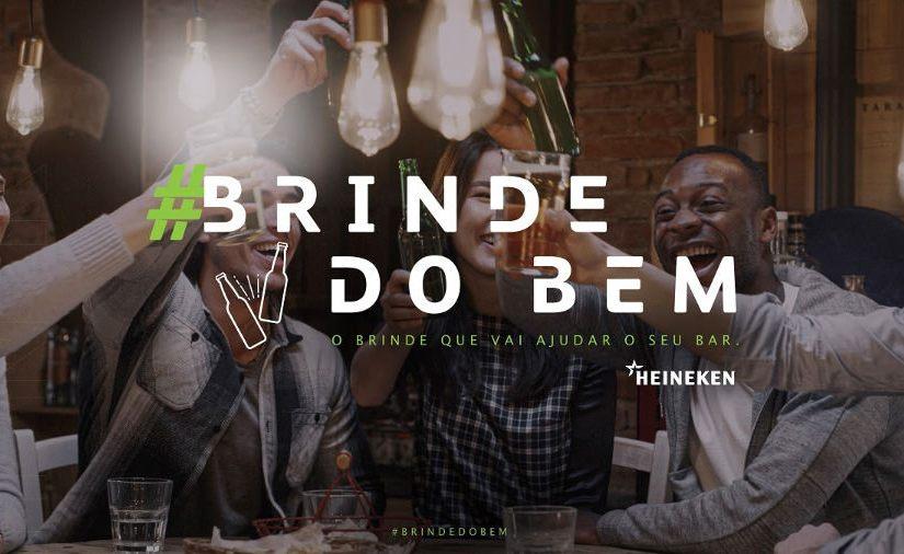 Heineken lança a campanha #BrindedoBem para ajudar bares durante apandemia