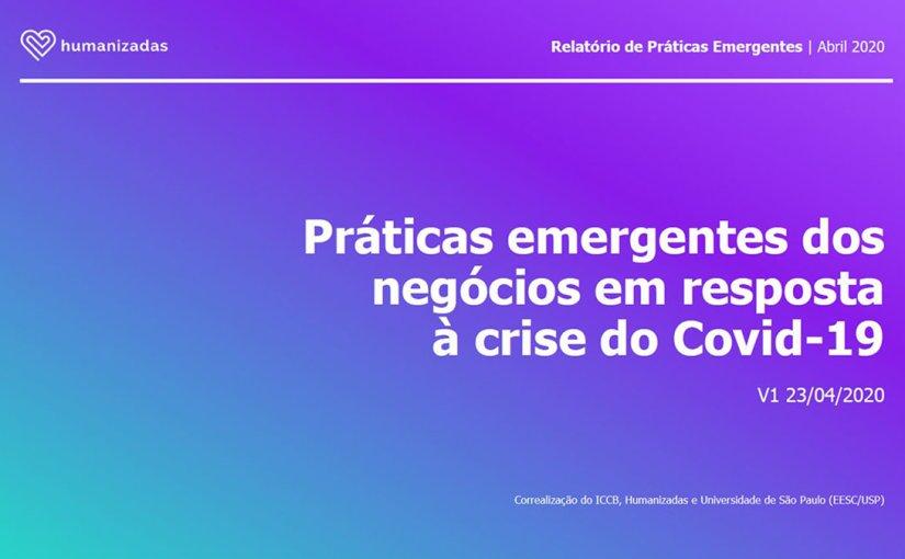 Práticas Emergentes em período de Crise do Covid-19 porHumanizadas