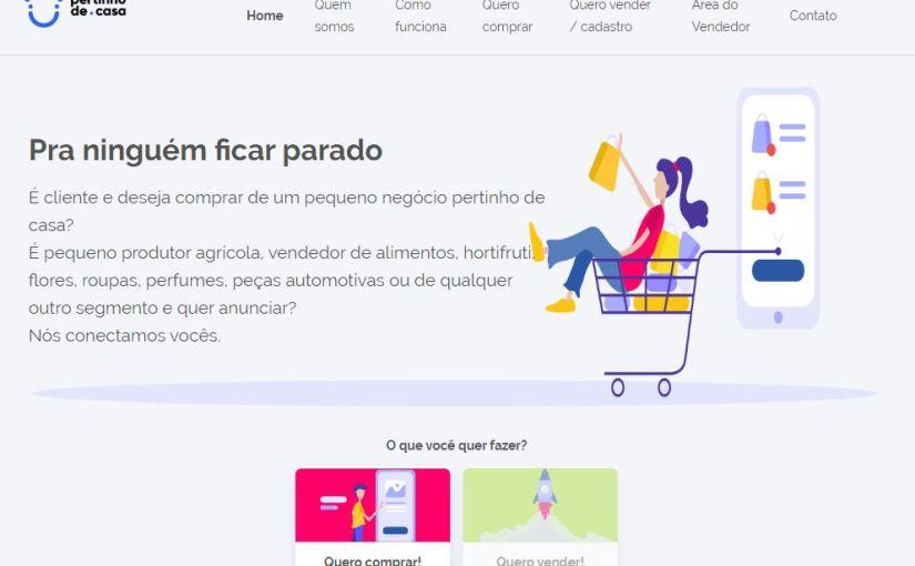 """Platform """"Pertinho de Casa"""" brings small producers closer to consumers and helps localbusinesses"""
