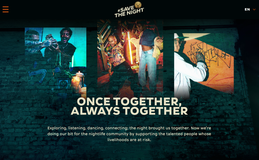 Jägermeister launches #SAVETHENIGHT platform to help professionals who depend on bars and clubs closed due to thepandemic