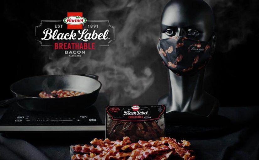 Empresa de alimentos Hormel Foods lança máscara facial com aroma debacon