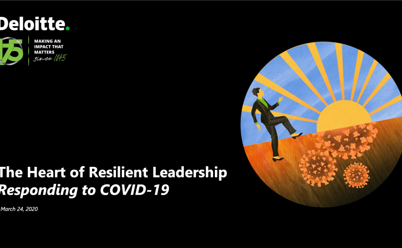 The heart of resilient leadership responding to Covid-19 byDeloitte
